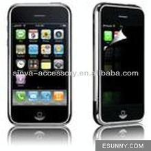 Korean LG 2 ways Privacy Screen Protector film for iphone 3G