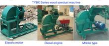 2015 hot sold manufacture wood grinder wood crusher