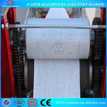 Napkin paper folding and printing machine, tissue paper machine