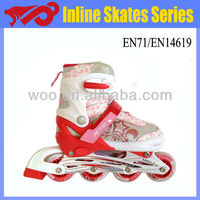 2013 PU wheels flashing shoes for adults