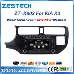 ZESTECH best price Car DVD Gps Navigation for KIA RIO Car DVD Gps Navigation with GPS,Radio,BT,RDS,3G,V-10disc+factory