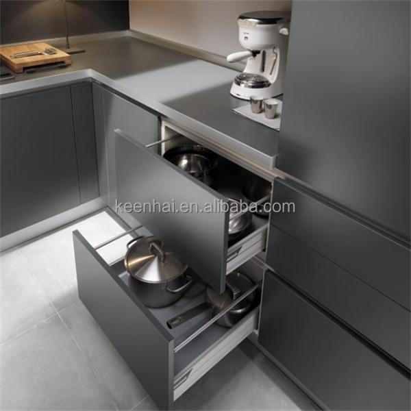Foshan keenhai commercial metal stainless steel kitchen for Stainless steel kitchen cabinet price