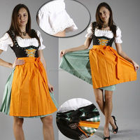 German Bavarian Drindls / Drindls Oktoberfest Costum / Ladies trachten drindls