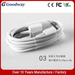 IOS 8.0 USB Cable For iPhone 6 iPhone 5/5S 1:1 High Quality 1M