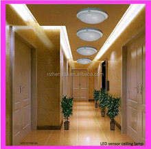 Seeing!! 2 years warranty factory direct sales pir motion sensor 5-18w led ceiling light