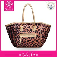 Hot selling leather tote bag fashion woman wholesale hand bag cheap leather bags