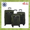 Luggage Wheels Parts Brand Promotional Nylon Valise Darker Green Color Valise Bag