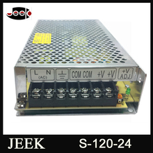 High quality MEANWELL 5a 24v 120w S-120 switching power supply