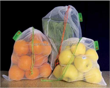fashion design Custom nylon potato mesh bag and small drawstring mesh bag
