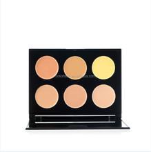 Wholesale Professional 6 Color Natural Blusher Palette