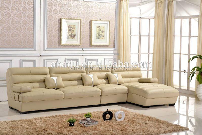Cheap inflatable sofa living room furniture corner microfiber