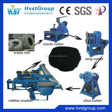 Patent products recycled tire rubber sheet / rubber crushing mill machinery
