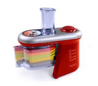 New design automatic vegetable slicer multi blade salad maker