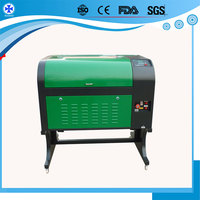 MDF WOOD 20mm Acrylic CO2 laser cutting machine equipment for small business