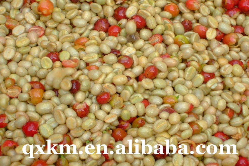 Arabica Green Coffee Beans 2014,Bulk Common Cultivation Type Unroasted Coffee Beans