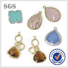 Children's,Men's,Unisex,Women's Gender and Pendants or Charms Jewelry Type Connector Bezel Setting Gemstone