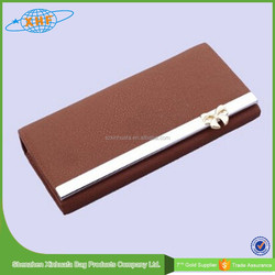 2015 Wholesale New Fashion Leather Woman Wallet