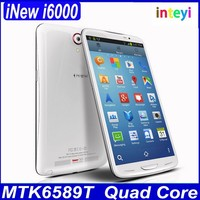 Cheap iNew i6000 MTK6589T Quad Core 1.5GHz Android 4.4.2 Phone 1GB/ 2GB RAM 16GB/ 32GB ROM 6.5 inch Screen FHD Camera 13.0MP