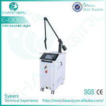 Hottest sell in 2015 medical q switched nd yag laser laser for tattoo removal