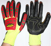 COTTON PALM OILFIELD & GAS TPR IMPACT SAFETY GLOVES / IMPACT RESISTANCE EN388 CERTIFIED