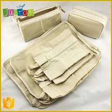 JUSTOP Wholesale New Design 7 in 1 polyster Travel storage bag Bag in Bag Set