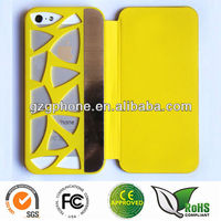 Caving hollow cellphone case for iPhone5 case