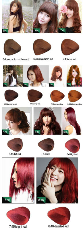 LUMINA Salon Hair Color Wholesale Allergy Free Full Coverage Hair Dye Color