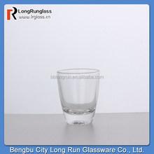 LongRun 2015 New Product 32ml clear high White glass material Short Glass, Shot Glassware