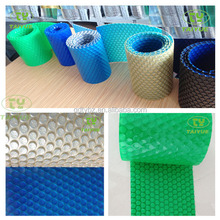 2014 New Design Different Color on Upper and Bottom Of Safety Swimming Pool Solar Cover