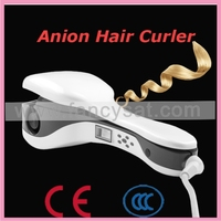 Showliss pro lcd hair curlers for long hair with Negative ion