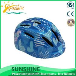 Sunshine lovely logo uptake kid bmx helmet, sport dog helmet, dog bicycle helmet