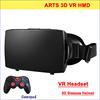 Best Quality Plastic Google Cardboard VR 3D glasses with Gamepad