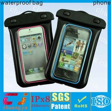 for iphone 5 waterproof mobile phone bag