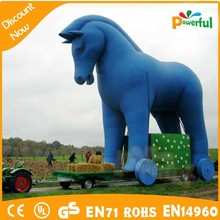 good quality amazing inflatable advertising model/large inflatable animals/inflatable horse