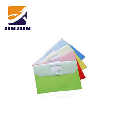 Lovely A4 button file pocket & examination paper bag & office document storage bag