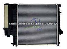 radiador del sistema de refrigeración del motor de aluminio al por mayor para BMW 318'90-99 E36/M43, OEM 1723898, DPI 1295