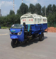 3 cbm Dump Truck Mounted on Tricycle