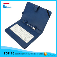 New style universal 11.6 inch tablet pc leather keyboard case with stand function,Mirco USB connector