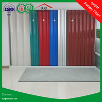 fiber corrugated sheet roof will be replaced by high strength MGO anti-corosion insulated fireproof roofing sheet SSHH01