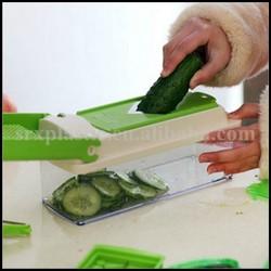 11 PCS Super Slicer Plus Vegetable Fruit Peeler Dicer Cutter and Chopper,China supplier price vegetable Dicer Cutter Chopper