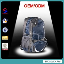2015 Hot sale waterproof trekking backpack camping backpack with custom designed accepted