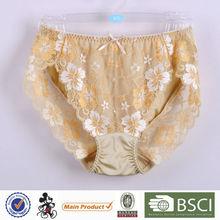 Fancy Design Pretty Pattern Mature Lady Daily Women Net Underwear