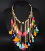 Europe and the United States trendy brief paragraph feather fashion necklace