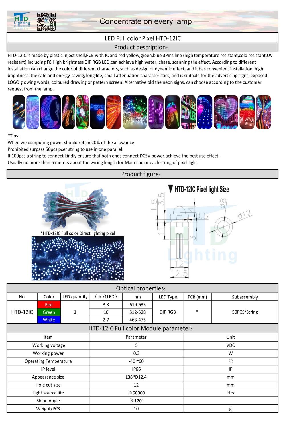 HTD-12IC LED Full color pixel-SPEC 201605__1