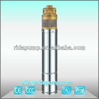 1hp irrigation water 4inch deep well pump Solar DC pump / 4SKM 3