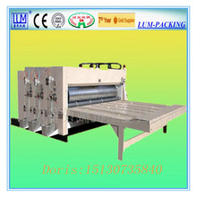 LUM-D chain feeder flexo printer and slotter machine/corrugated carton production line/ packaging machine in Hebei Cangzhou