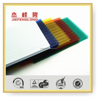 Plastics Sheet Polycarbonate Hollow Sheet Covering and Roofing of Construction Material