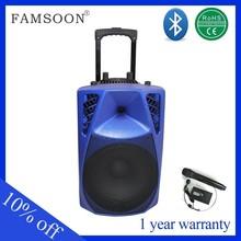 Portable Trolley Speaker auto radio peugeot 407