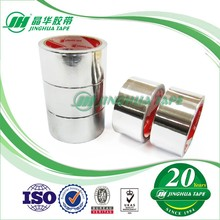 Free Sample Shanghai Cheap Tape Hand Tearable Tube Sealing Splicing aluminium foil tape with liner
