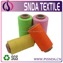 recycled cotton bed sheet yarn for weaving